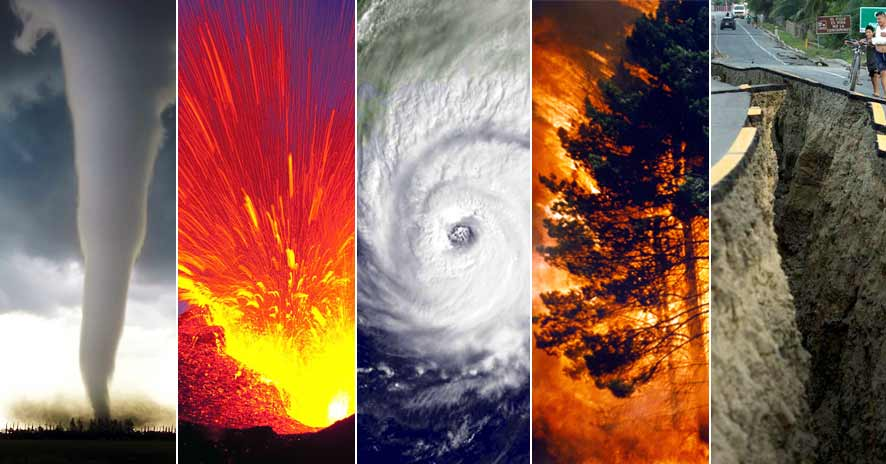 Least Natural Disasters In The Us