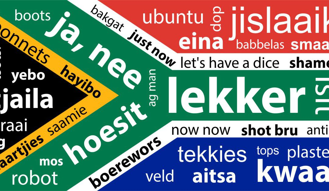 Language only South Africans will understand