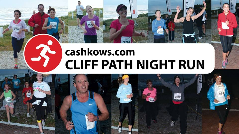 Cliff Path Night Run success