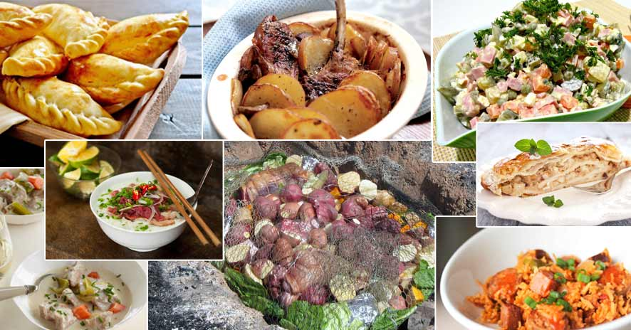 Favourite meals from around the world